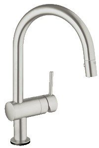 Grohe Minta Touch elektronisk arm. køkk bruser supersteel 706169116