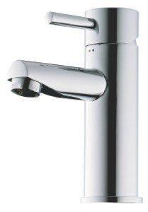 Børma Lux A1 Håndvaskbatteri u/Bundventil Steel 701421117