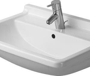 Duravit Starck 3 Håndvask 55x43 cm m/Hanehul Hvid 626705000