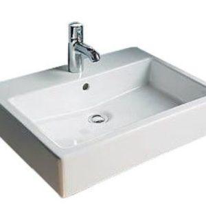 Duravit Vero Håndvask 50x47 cm m/Hanehul u/WonderGliss Hvid 635451000