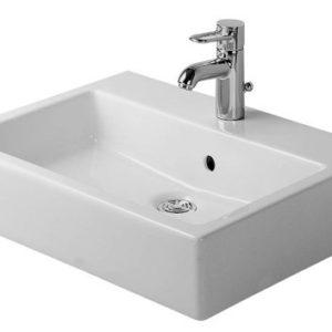 Duravit Vero Håndvask 50x47 cm m/Hanehul m/WonderGliss Hvid 635451010