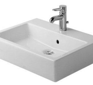Duravit Vero Håndvask 60x47 cm m/Hanehul u/WonderGliss Hvid 635452000
