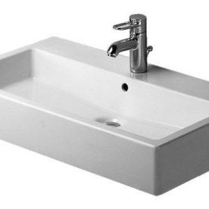 Duravit Vero Håndvask 80x47 cm m/Hanehul m/WonderGliss Hvid 635453010