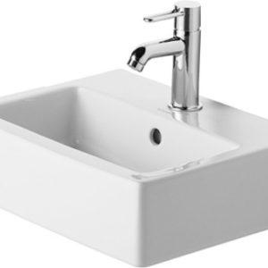 Duravit Vero Håndvask 45x35 cm m/Hanehul u/WonderGliss Hvid 635482000