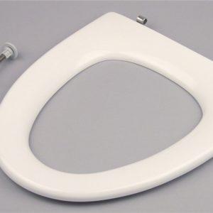 Pressalit Toiletsæde Cera/Ceranova u/låg Hvid Fast beslag, lang, rustfri hvid 615091000
