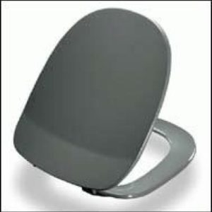 Pressalit Aqua Toiletsæde m/Fast Beslag, Hvid kort model 615085000