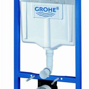 Grohe Solido indbygningscisterne inkl. Skate Air trykknappe, Krom (*STKL*) 616977710