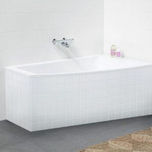 Ifö Acryllic badekar 1500 mm asymmetrisk Højre Hvid 666243100