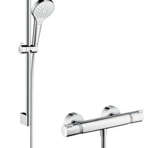 Hansgrohe Croma Select S Vario / Ecostat Comfort sæt 65 cm Hvid/Krom 27013400