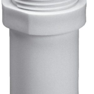 "Purus plast Overgang 32x1"" M/Nippel Hvid 750412008"
