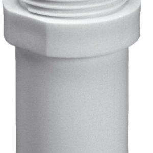"Purus plast Overgang 32x1 1/4"" M/Nippel Hvid 750412010"