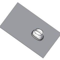 Køb Aftræk connext taginddækning 25-45° 60/100-80/125 mm