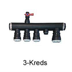 Køb Komplet fordeler til jordvarme 3 x 40 / 1 x 50 | 980418265
