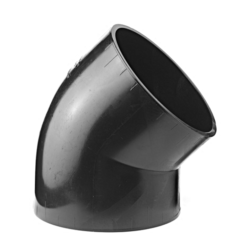Køb Akatherm Ø125 mm X 45° Peh Vinkel | 184036720