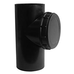 Køb Akatherm Ø110 mm X 90° Peh Renserør | 184111710