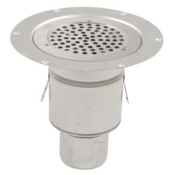 Køb Blucher Metal boligafløb 110/75 mm til vandlås | 153610313