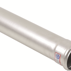 Køb Blucher Metal afløbsrør 75X250 mm muffe rustfri | 160124025