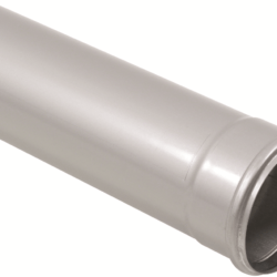 Køb Blucher Metal afløbsrør 110X1000 mm muffe rustfri | 160128100