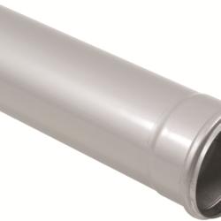 Køb Blucher Metal afløbsrør 110X2000 mm muffe rustfri | 160128200