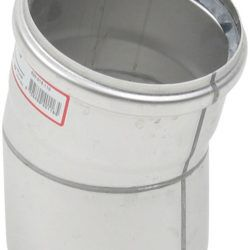 Køb Blucher Metal bøjning 15° 110 mm rustfri | 160209110