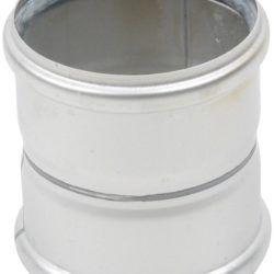 Køb Blucher Metal dobbeltmuffe 110 mm rustfri | 160275110