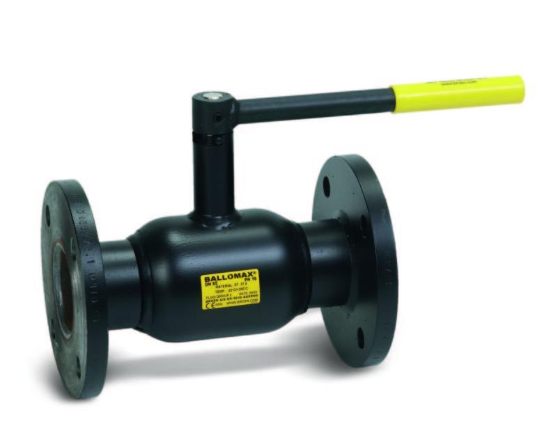 Køb Kuglehane ballomax flange/høj 65MM