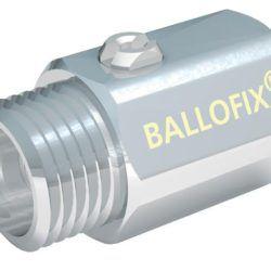 Køb Ballofix uden håndtag muffe/nippel 3/4 Forkromet
