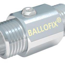Køb Ballofix uden håndtag nippel/nippel 1/2