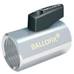 """Køb Ballofix 1/2"""" muffe/muffe med håndtag"""