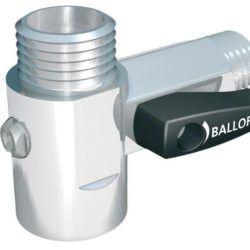 Køb Ballofix mellemstykke med afspærringsventil 1/2 | 743840304