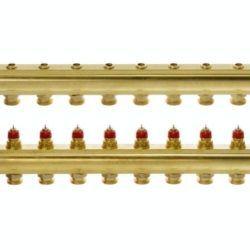 Køb Danfoss gulvvarmemanifold 10+10 FHF-10 | 402032010