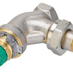 Køb Danfoss RA-DV 10 dynamisk radiatorventil vinkelløb 3/8 | 403284103