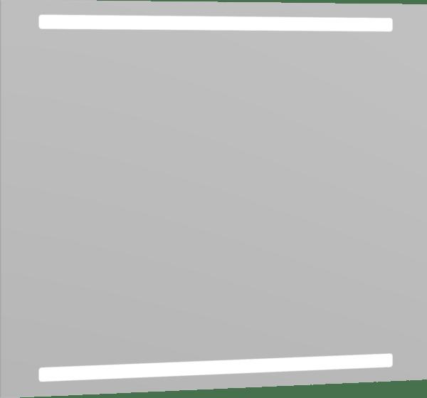 Køb Dansani spejl med lys 80 cm | 780988940