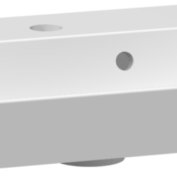 Køb Dansani Uno marmorvask 50 cm hvid | 781385150