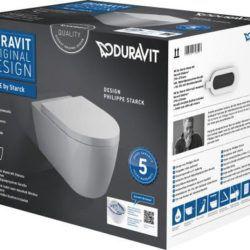 Køb Duravit ME by Starck vægskål box incl toiletsæde | 613211100