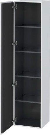 Køb Duravit L-Cube højskab med 1 venstrehængslet låge og 4 glashylder | 782375140