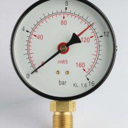 Køb Manometer 1/2XØ80 0-0
