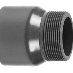 Køb Gevindnippel pvc 63 mm X 2