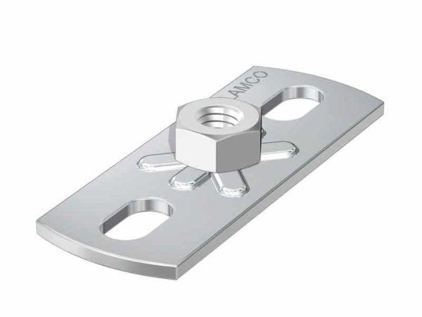Køb Montageflange GP M8 80X30 mm   018592208