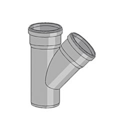 Køb Friaphon Ø52 mm X 52 mm X 87° Grenrør | 183151112