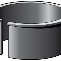 Køb MA Støttebøsning 110 mm til HT