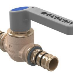 Køb Geberit Mepla kugleventil med betjeningshåndtag d=32 mm | 087546532