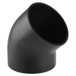 Køb Peh bøjning Geberit 45° Ø56 mm | 184036256