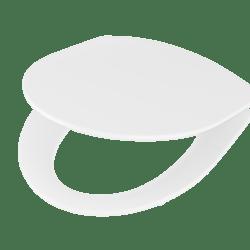 Køb Ifo Spira toiletsæde hvid med soft closing beslag | 614548100