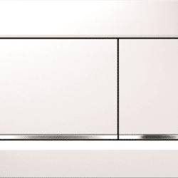 Køb Geberit betjeningsplade Sigma30 hvid/blankkrom/hvid | 617080350