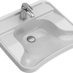 Køb Ifo Care håndvask med hanehul uden overløb 660 x 575 x 190 mm   636814800