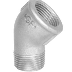 Køb Vinkel 45° galvaniseret nippel/muffe 3 | 000121414