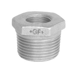 Køb Nippelmuffe galvaniseret koncentrisk 1 1/2X1 | 000241458