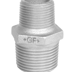 Køb Brystnippel galvaniseret reduktion 3X2 | 000245480