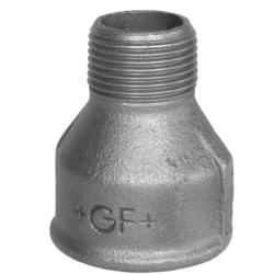 Køb Spidsmuffe sort reduktion muffe/nippel 1/2X1/4 | 000246125